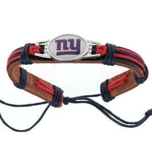 Other - NFL New York Giants Leather Wristband